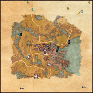 Alten Corimont Fishing Map