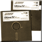 Ultima IV Media for Commodore 64