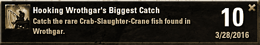 Wrothgar's Biggest Catch
