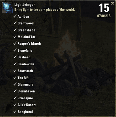 Lightbringer Achievement