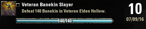 Veteran Banekin Slayer Achievement