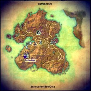 Summerset Map - Jewel Crafter
