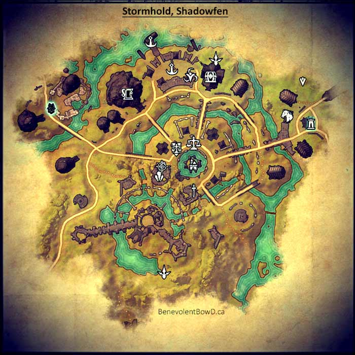 Map Murkmire daily NPC location
